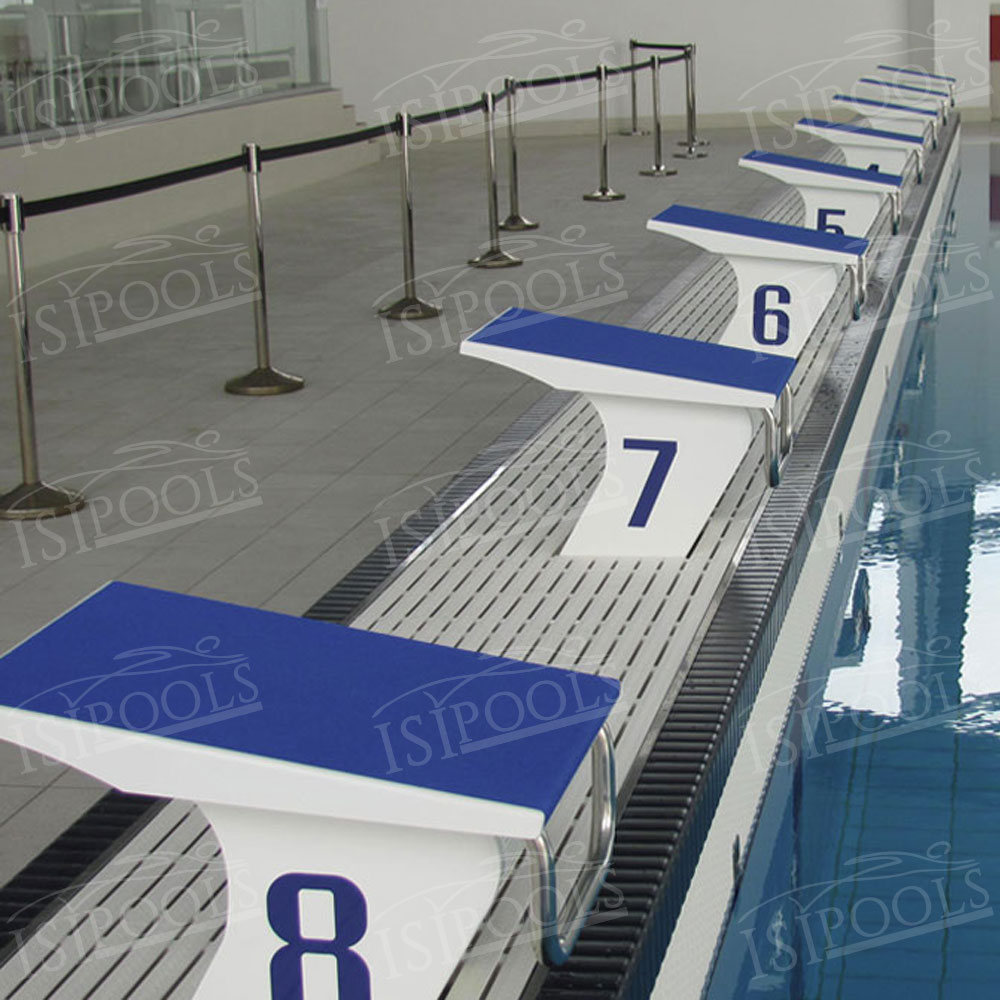 Stainless steel construction for competition pools isipools for Construction piscine inox